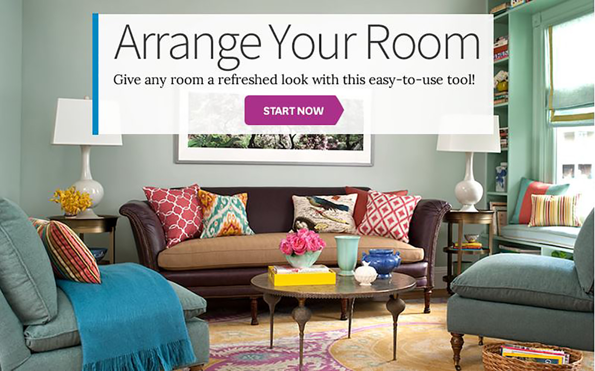 Plan Your Furniture Arrangement with Our Free Arrange-a-Room Tool
